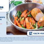 Kurczak z karmelizowaną marchewką