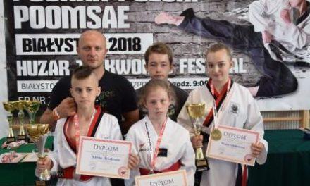 Trzy medale w Pucharze Polski w Taekwondo