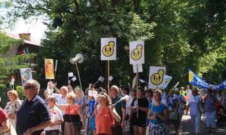 VI Marsz dla Życia i Rodziny w Ciechanowie