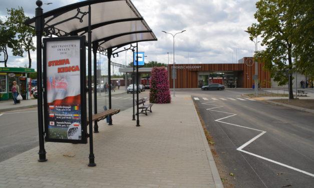 Ciechanów: Od jutra autobusy będą zatrzymywały się na przystankach przed dworcem