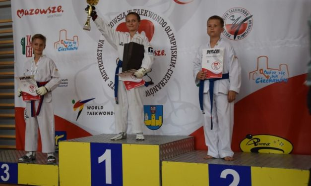 Otwarte Mistrzostwa Mazowsza w Taekwondo Olimpijskim
