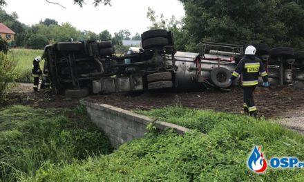 Wypadek cysterny w Kondrajcu Szlacheckim
