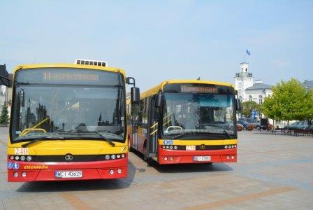 Jest rozkład jazdy autobusów linii nr 11, która pojedzie do Opinogóry i Regimina