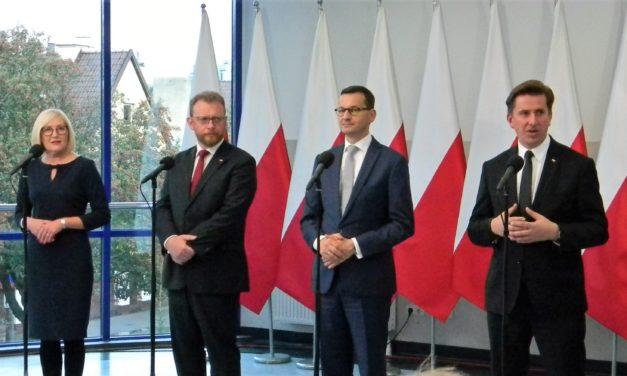 Premier i minister zdrowia z wizytą w Ciechanowie