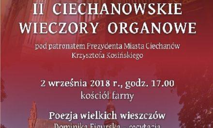 II Ciechanowskie Wieczory Organowe