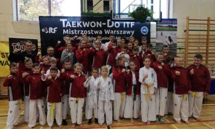 Otwarte Mistrzostwa Warszawy w  Taekwon-do ITF. Ciechanowianie z medalami