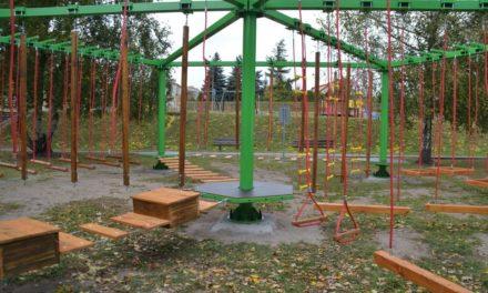 Ciechanów: Już jest niski park linowy