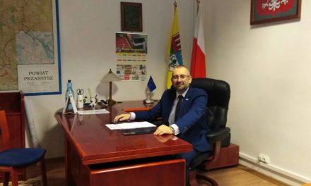 Kierownik ciechanowskiej delegatury Mazowieckiego Urzędu Wojewódzkiego Starostą Przasnyskim