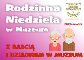 Ciechanów: Dzień Babci i Dziadka w muzeum