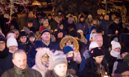 Ciechanów uczcił pamięć prezydenta Gdańska Pawła Adamowicza