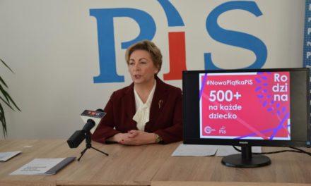 Nowa Piątka PiS tematem konferencji prasowej Poseł Anny Cicholskiej