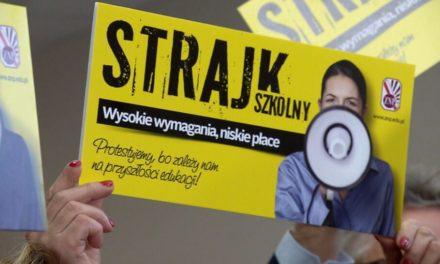Ciechanów: Nauczyciele z SP 3 nie otrzymali wynagrodzeń za strajk