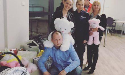 Wielkanocna zbiórka ciechanowskich policjantów dla podopiecznych Fundacji Odzyskać Radość