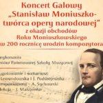 """""""Stanisław Moniuszko – twórca opery narodowej"""" – koncert na zamkowym dziedzińcu"""