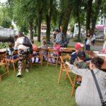 Warsztaty plastyczno – ruchowe w PCKiSz (zdjęcia)