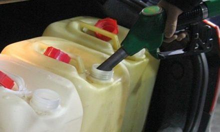 Złodziej paliwa zatrzymany. Ukradł ponad 120 litrów