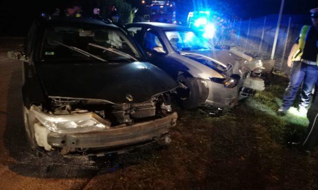 Wypadek w Zeńboku. Dwie osoby zostały przewiezione do szpitala