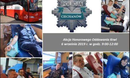 100 litrów krwi na 100-lecie Policji – w piątek kolejna odsłona akcji