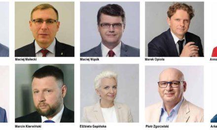 Cicholska i Wąsik ponownie w Sejmie. Kołakowski bez mandatu