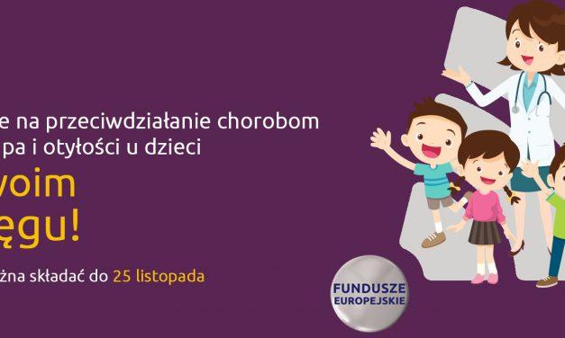 Fundusze unijne na przeciwdziałanie chorobom kręgosłupa i otyłości u uczniów