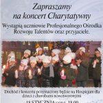 Koncert dla dzieci z hospicjum