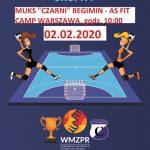 """W niedzielę mecz MUKS """"Czarni"""" Regimin – AS Fit Camp Warszawa"""