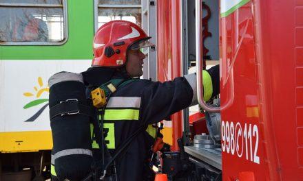 Powiat Ciechanowski: Więcej pożarów mniej fałszywych alarmów – strażacy podsumowali miniony rok