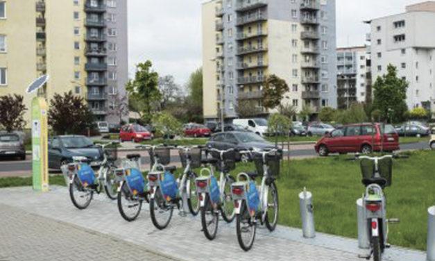 Ciechanów planuje wdrożyć system rowerów miejskich