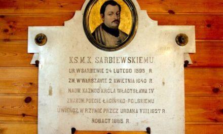 XI Dzień Macieja K. Sarbiewskiego w Warszawie