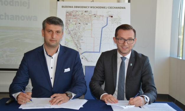 Obwodnica wschodnia Ciechanowa. Start inwestycji już w maju