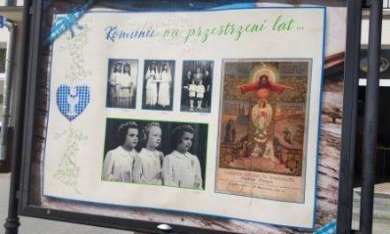 Komunie na przestrzeni lat… – nowa wystawa na ul. Warszawskiej