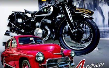 Motocykle i pojazdy zabytkowe na zamku
