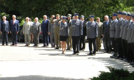 Ciechanowska policja świętowała ( zdjęcia)