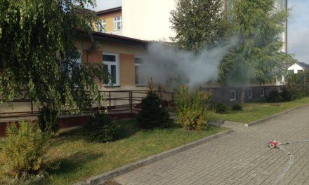 Pożar w szkole. Ewakuowano uczniów