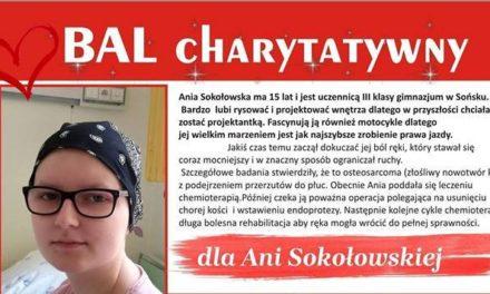 Bal charytatywny dla Ani Sokołowskiej