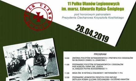 Ciechanów:  W niedzielę  100. rocznica istnienia 11 Pułku Ułanów
