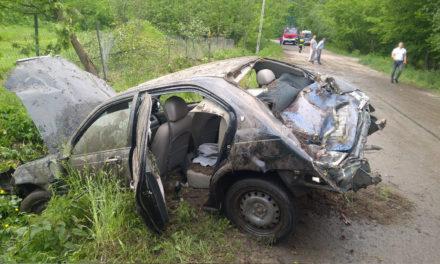 Groźny wypadek w Koźniewie Średnim