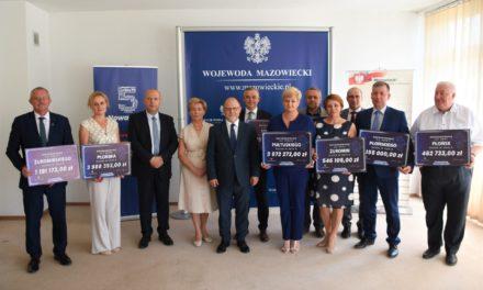 Fundusz Dróg Samorządowych: promesy dla subregionu ciechanowskiego