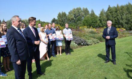 Rafał Romanowski wystartował z kampanią wyborczą (zdjęcia)