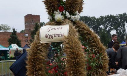 Rolnicy z Gminy Regimin podziękują za plony