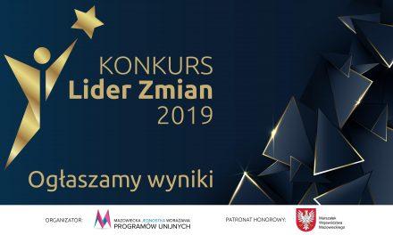 Znamy Liderów Zmian 2019 na Mazowszu
