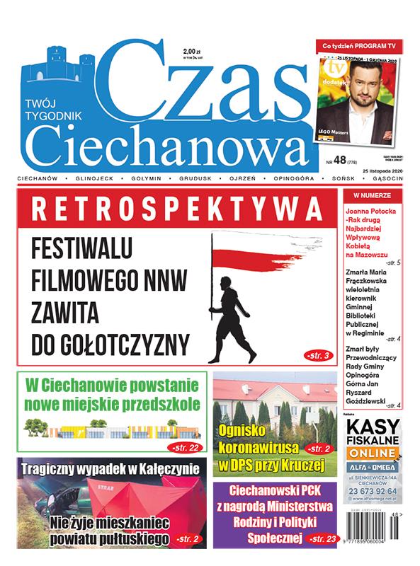 Czas Ciechanowa - Tygodnik Ciechanowa i okolic