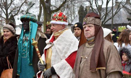 Pierwszy Orszak Trzech Króli w Sońsku