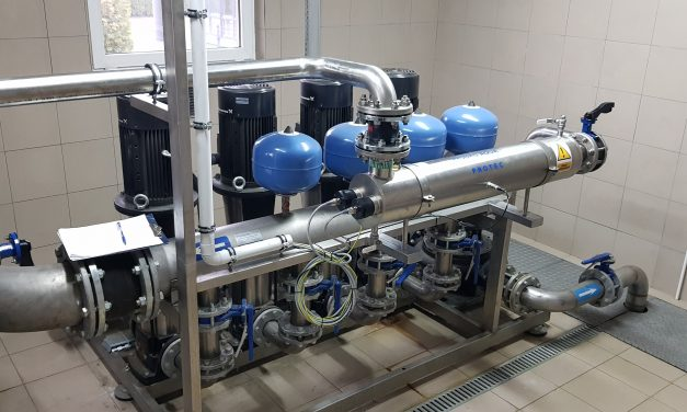 Ciechanów: Lampa UV zadba o jakość wody pitnej