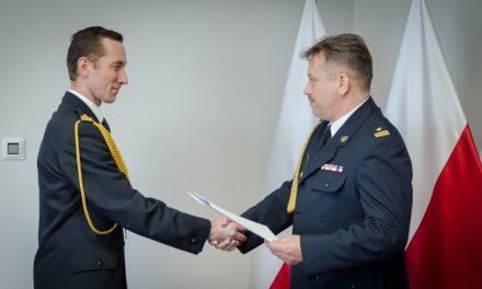 Ciechanów: mł. bryg. Radosławowi Osieckiemu p.o.komendanta powiatowego PSP