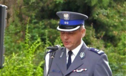 Inspektor Grzegorz Grabowski nie jest już szefem Komendy Powiatowej Policji w Ciechanowie