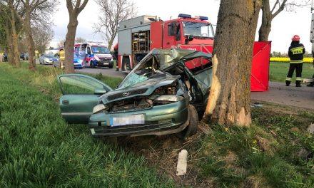 Tragiczny wypadek w Gąskach. Zginęła 23-letnia kobieta