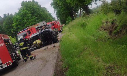 Groźny wypadek na drodze Bieńki Karkuty – Gołotczyzna