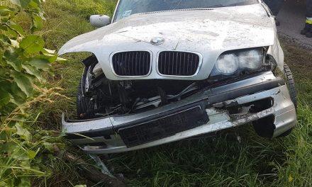 Groźny wypadek w Chrościcach (zdjęcia)