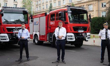 """""""Bitwa o wozy"""" – MSWiA sfinansuje wozy strażackie dla gmin o najwyższej frekwencji wyborczej"""